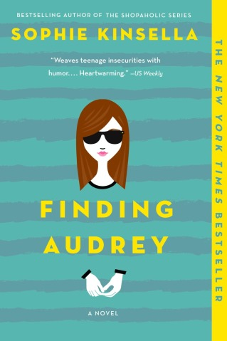 Finding Audrey Paperback Cover